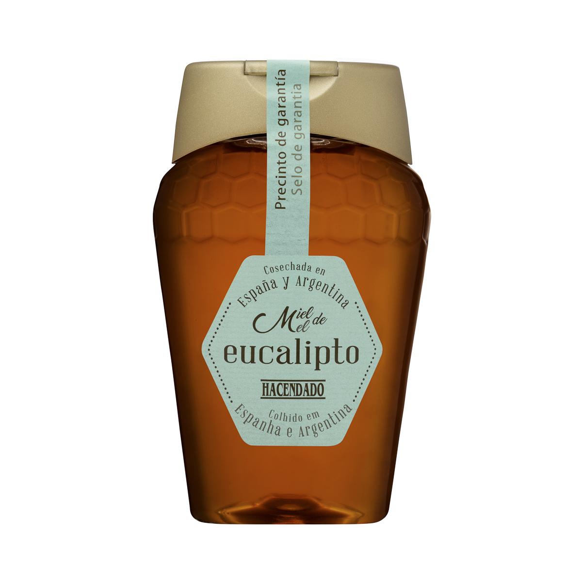 Fotografía producto, miel eucalipto Hacendado (Mercadona)