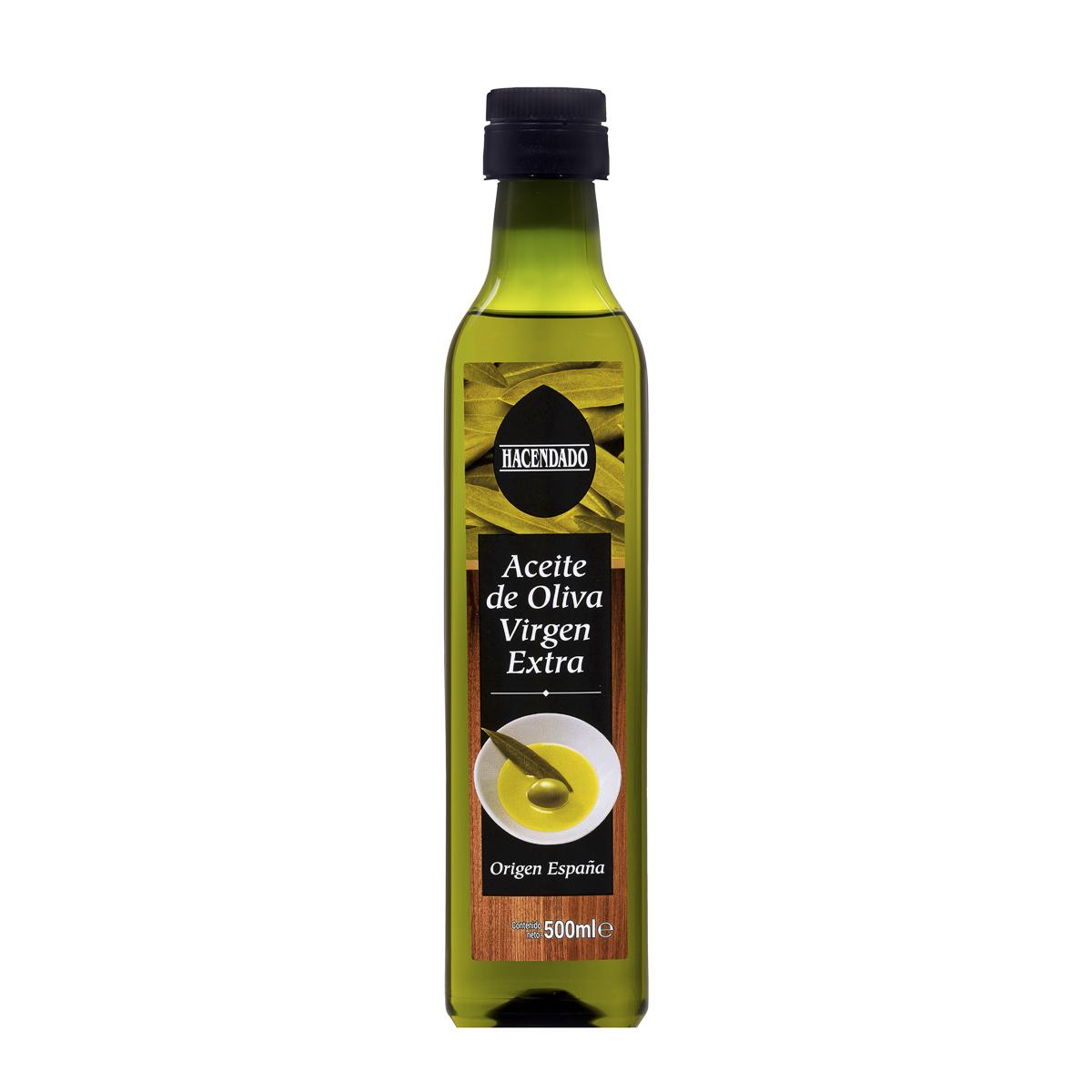 Fotografía producto, aceite Hacendado (Mercadona)
