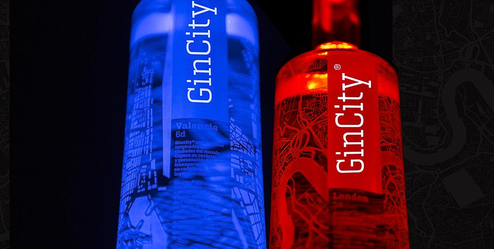 Fotografía publicitaria, campaña online GinCity