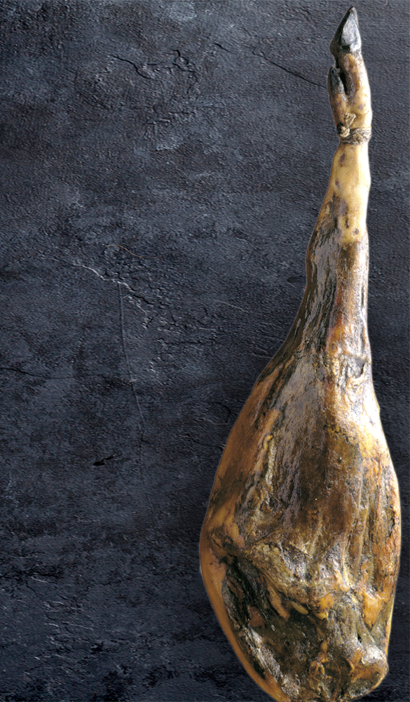 Fotografía producto, jamón ibérico bellota
