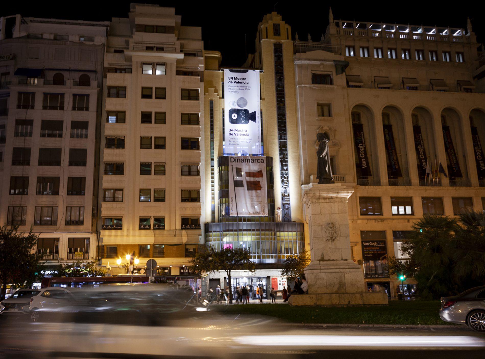 Fotografía de Reportaje. Reportaje cartelería 34 Mostra de València.
