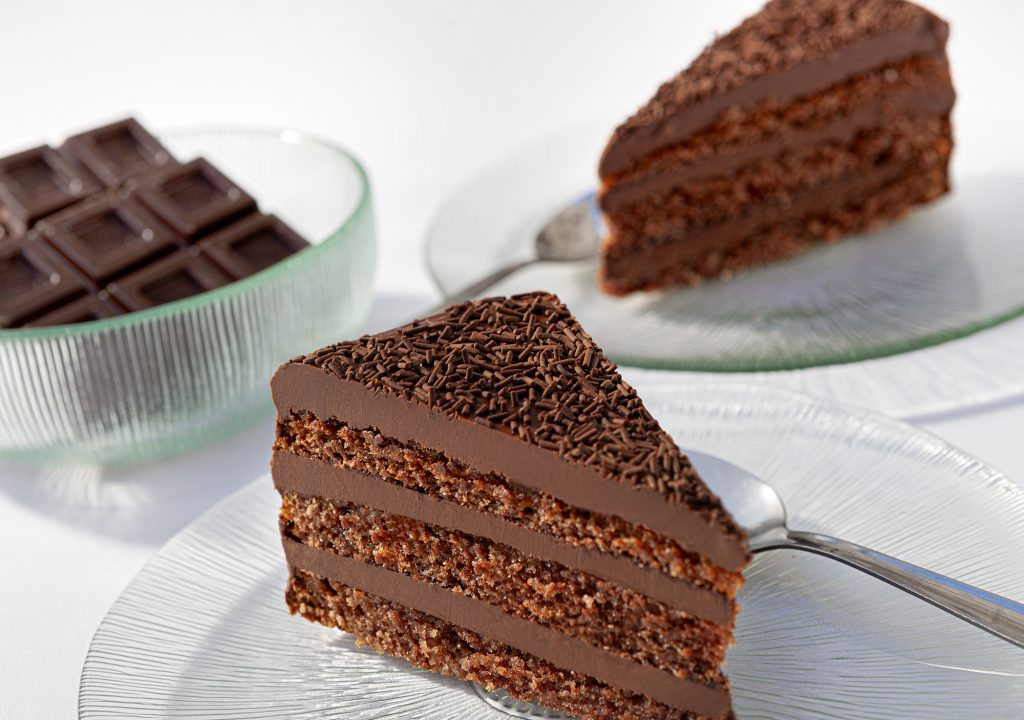 Fotografía de Alimentación. Tarta chocolate, chocolates Valor.