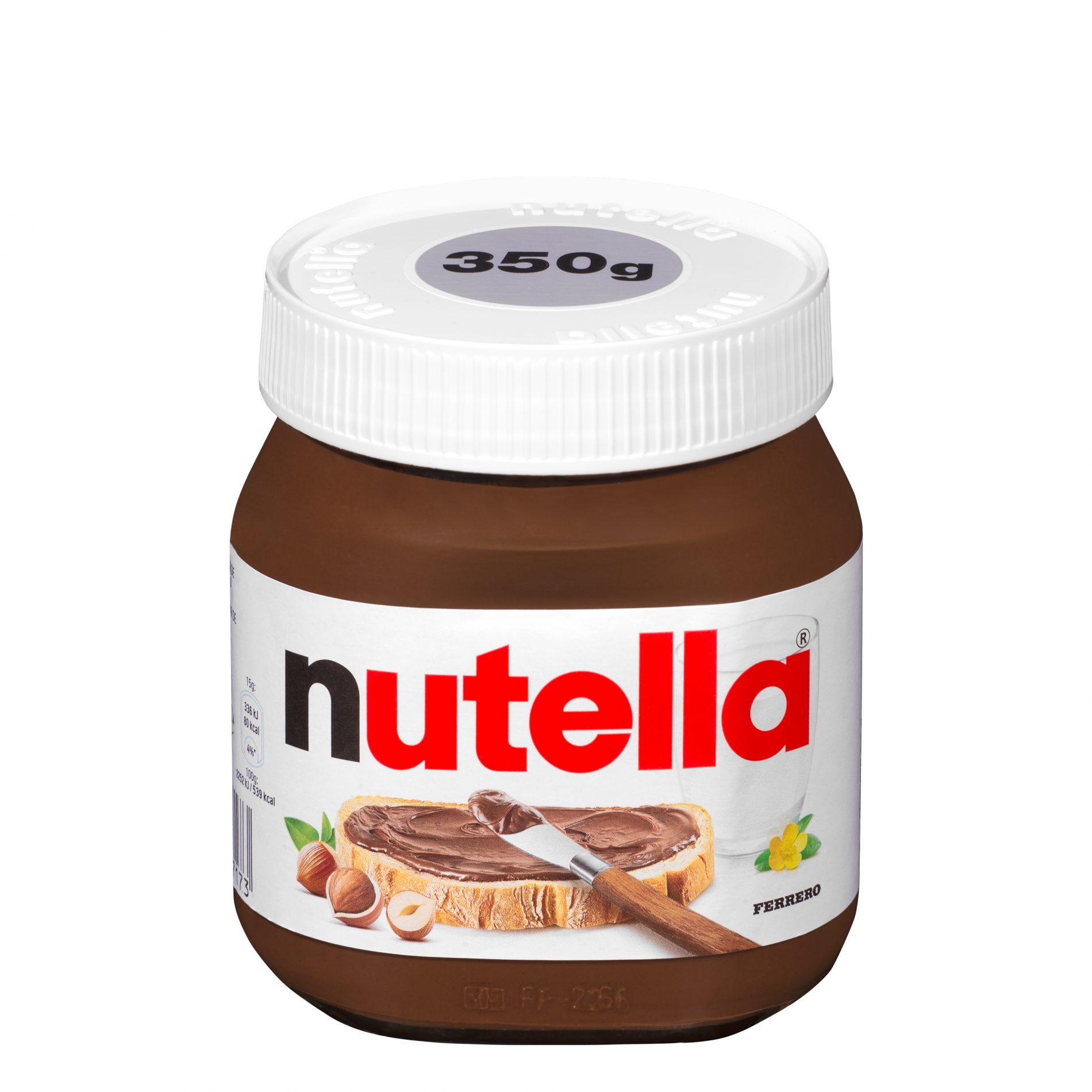 Fotografía de Producto. Bote Nutella para ecommerce Mercadona.