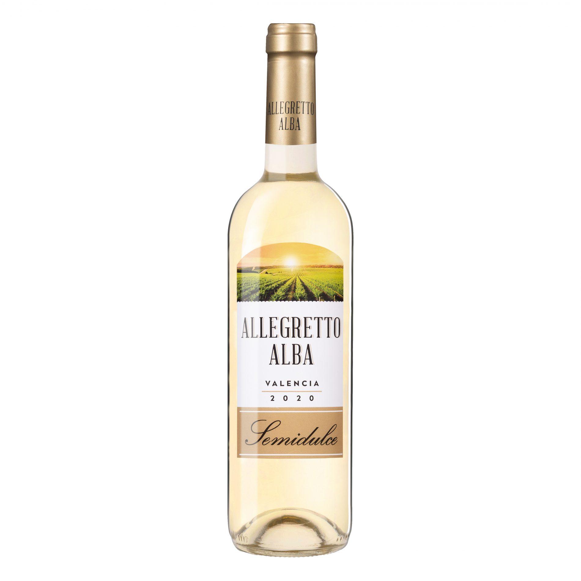 Fotografía Producto, Vino Blanco Allegretto Alba.