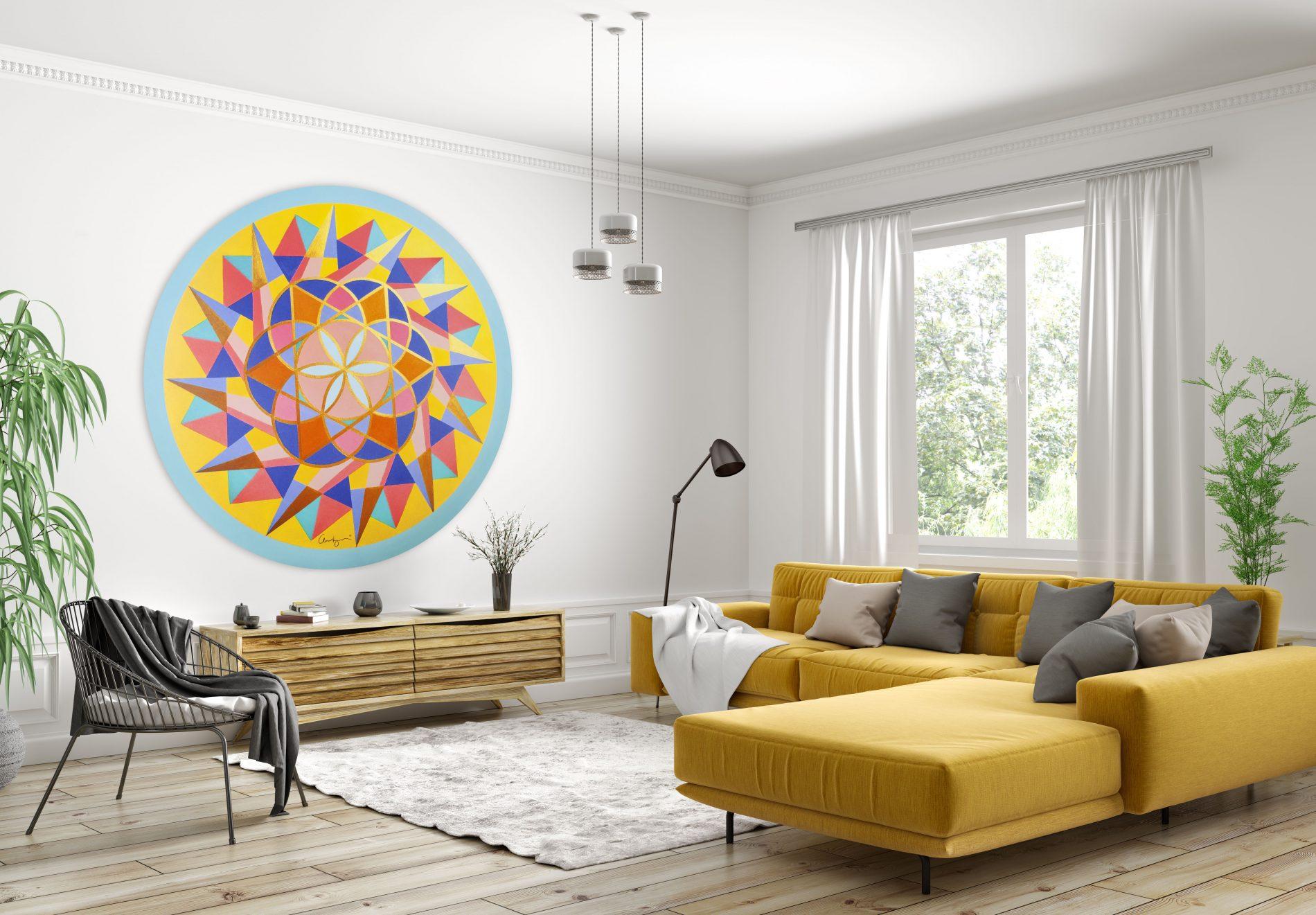 Fotografía Ecommerce. Ambiente con Mandala.