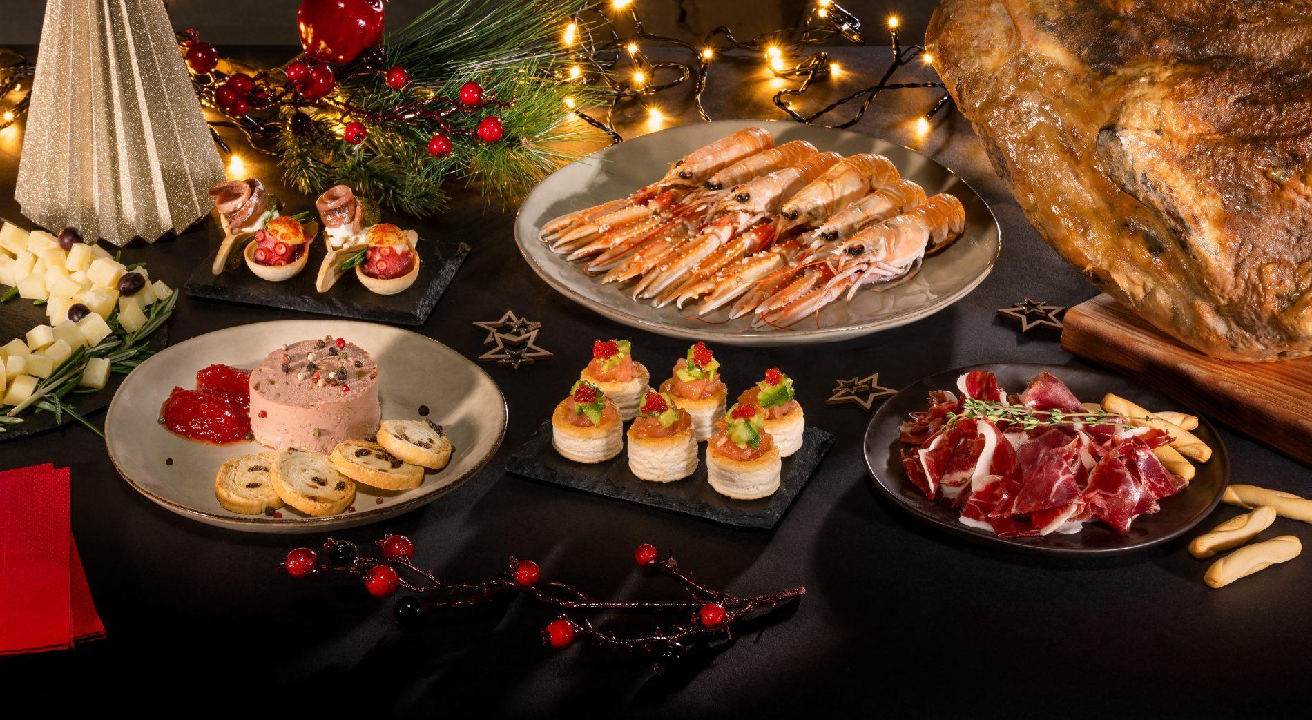 Fotografía Gastronómica. Banner Web Navidad Mercadona.